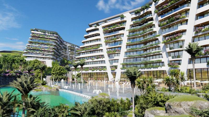 Một phần của Sunshine Heritage Mũi Né – dự án tỷ đô được Sunshine Group xây dựng với tiêu chuẩn siêu dự án nghỉ dưỡng, giải trí và trải nghiệm văn hóa. Ảnh Sunshine Group
