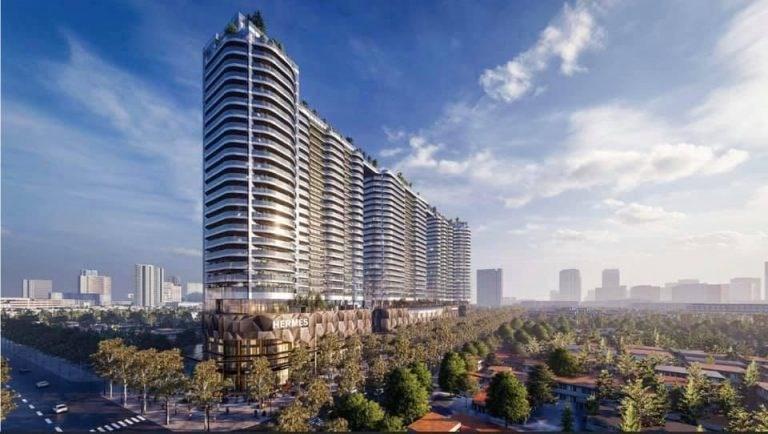 Phối cảnh Sunshine Continental - dự án căn hộ cao cấp ngay trung tâm Quận 10 của tập đoàn Sunshine Group. Ảnh Sunshine Group