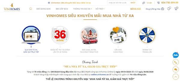Vinhomes Online không chỉ mang đến cho khách hàng lựa chọn mới. Ảnh VIC