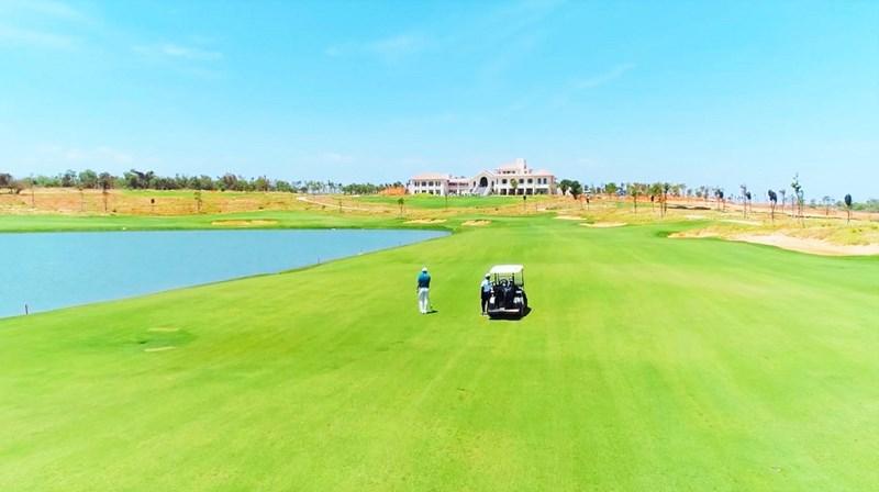 Sân Golf PGA Ocean đã chính thức khai trương ngày 17/04 vừa qua. Ảnh Novaland