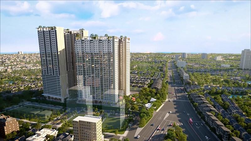 """Dự án Lavita Thuan An sở hữu vị trí """"vàng"""" tại trung tâm TP.Thuận An - tỉnh Bình Dương. Ảnh: PropertyX"""