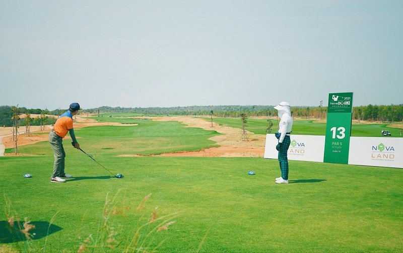 Cụm sân golf PGA 36 hố tại NovaWorld Phan Thiet sẽ là nơi độc quyền tổ chức các giải thi đấu PGA chuyên nghiệp tại Việt Nam. Ảnh NVL