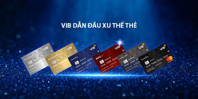 Mỗi loại thẻ được VIB thiết kế các tiện ích ưu việt và độc đáo. Ảnh VIB