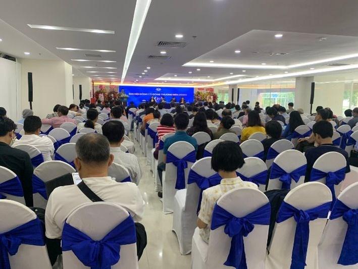Toàn cảnh sự kiện Đại Hội Đồng Cổ Đông Tập đoàn Hoàng Quân sáng ngày 30/05/2020. Ảnh HQC