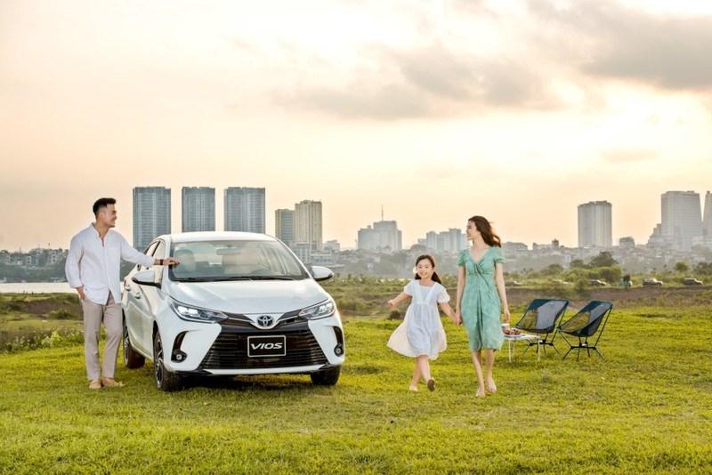 Vios 2021 có nhiều thay đổi về thiết kế và nâng cấp tiện nghi hơn. Ảnh: Toyota