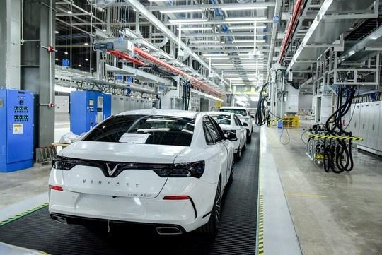 Công suất thiết kế giai đoạn 1 là 250.000 xe/năm, giai đoạn 2 là 500.000 xe/năm, tốc độ sản xuất 38 xe/giờ.