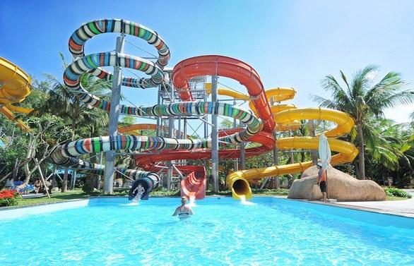 Dự án với 6 phân khu nằm trong khu đất có quy mô 50ha tại đảo Vũ Yên, TP Hải Phòng, hứa hẹn sẽ mang đến những trải nghiệm dịch vụ du lịch đặc sắc - Ảnh:VIN