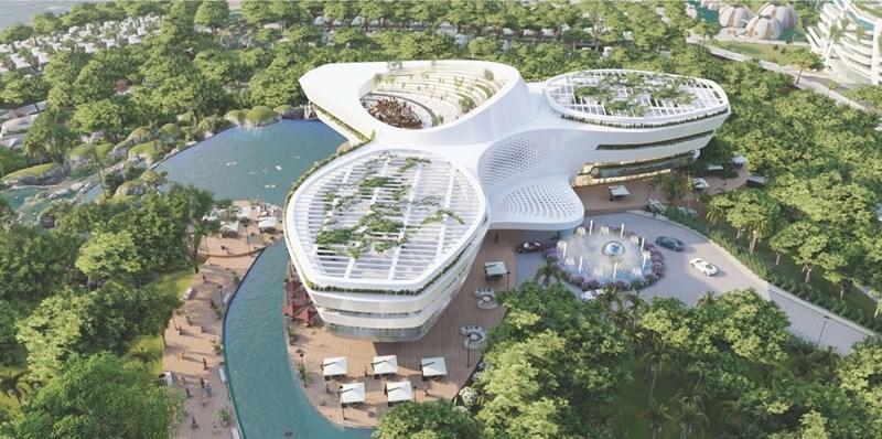 Heritage Mũi Né trở thành điểm sáng của thành phố biển nơi đây kiến tạo một thiên đường nghỉ dưỡng đỉnh cao. Ảnh: Sunshine Group
