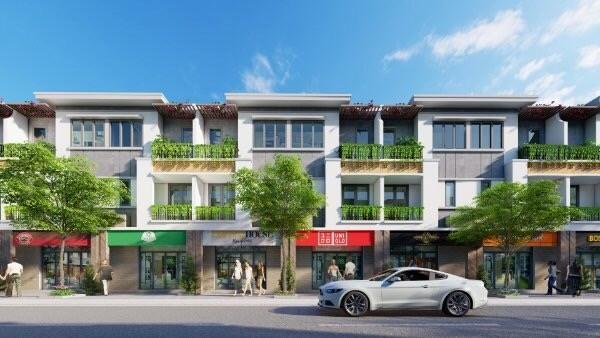 Lavela Garden sở hữu tiềm năng trở thành khu phố thương mại nhộn nhịp tại khu vực Bình Chuẩn, Thuận An. Ảnh: Thu Trang.