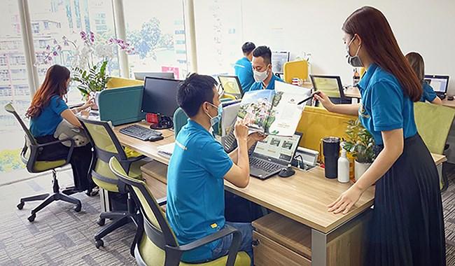 Chuyển đổi số nói chung và Workplce nói riêng sẽ thay đổi đáng kể cách tương tác, trao đổi công việc hàng ngày đối với CBNV Phú Long. Ảnh: T.H.