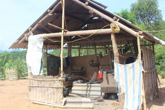Nhà cũ của gia đình ông Lữ Văn Hòa. Ảnh VB