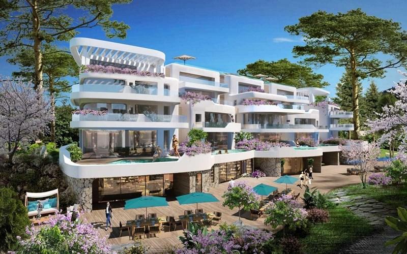 Chuỗi dự án bất động sản hàng hiệu trải dài từ Bắc tới Nam được Sunshine Homes phát triển. Ảnh: Sunshine Homes