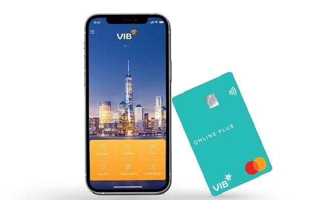 Ứng dụng ngân hàng di động MyVIB và dịch vụ ngân hàng điện tử My Online Bank tăng 154% so với cùng kì năm ngoái. Ảnh: VIB