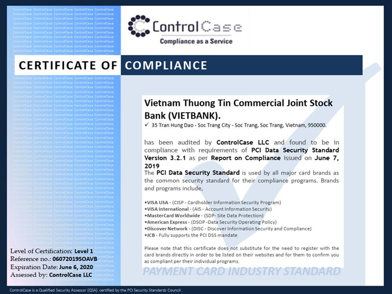 Vietbank đã đầu tư, trang bị công nghệ tối ưu với cam kết bảo mật tuyệt đối thông tin giao dịch của khách hàng. Ảnh Vietbank