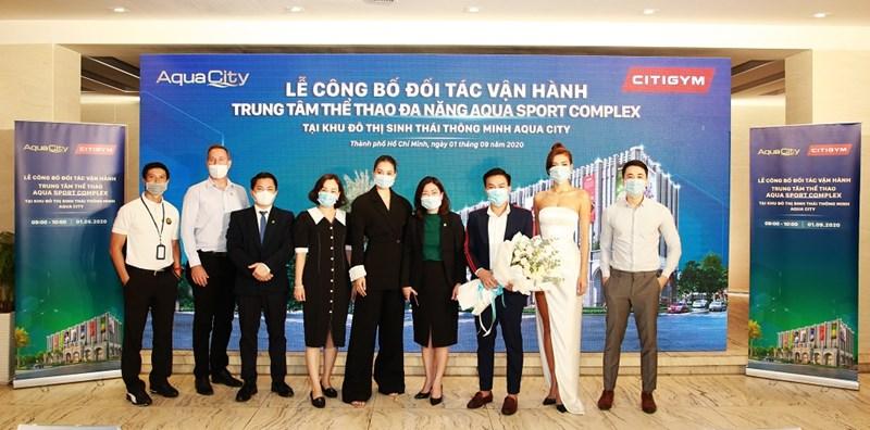Sự kiện có sự hiện diện của Hoa hậu Việt Nam Trần Tiểu Vy & siêu mẫu Minh Tú trong vai trò Đại sứ thương hiệu của CITIGYM. Ảnh NVL