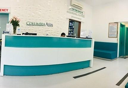 Phòng khám Đa khoa Quốc tế Columbia Asia - Sài Gòn tại trung tâm Quận 1, TP. Hồ Chí Minh. Ảnh HLB