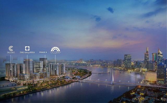 """The Metropole Thủ Thiêm - dự án thuộc chiến lược """"Dấu ấn SonKim Land"""". Ảnh phối cảnh: Ảnh SonKim Land"""