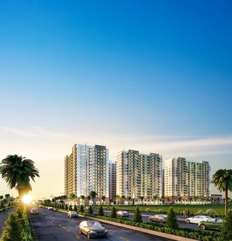 Khu căn hộ New Galaxy do Hưng Thịnh Land phát triển đang tạo sức hút lớn ở thị trường phía Đông TP. Hồ Chí Minh. Ảnh HT