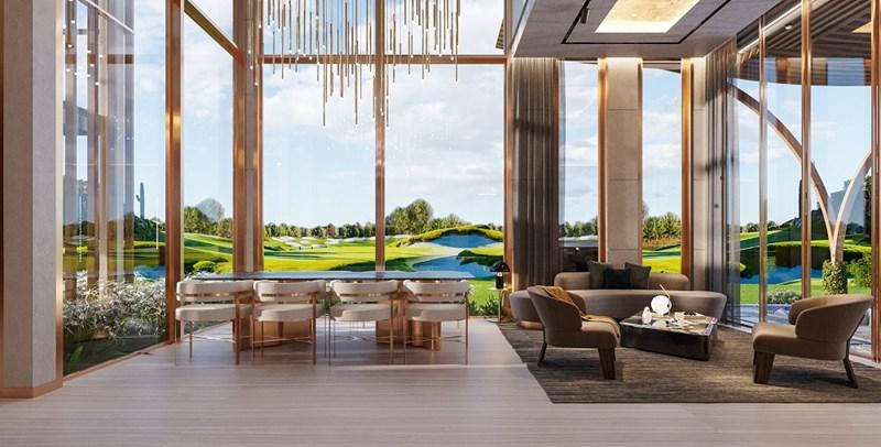 Mẫu thiết kế PGA Golf Villas tại NovaWorld Phan Thiet (Phan Thiết, Bình Thuận). Ảnh NVL