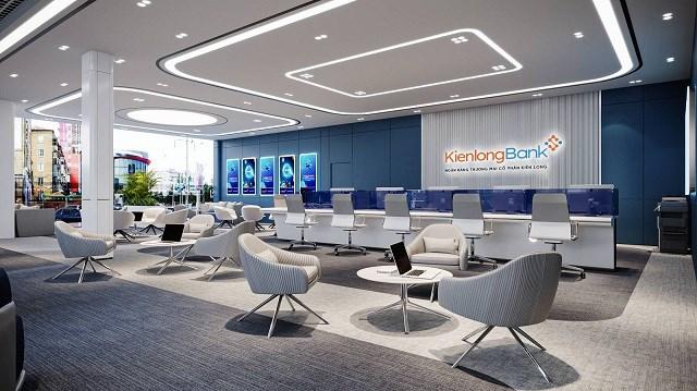 Phòng giao dịch 5 sao hiện đại của Ngân hàng số Kienlongbank. Ảnh: KLB.