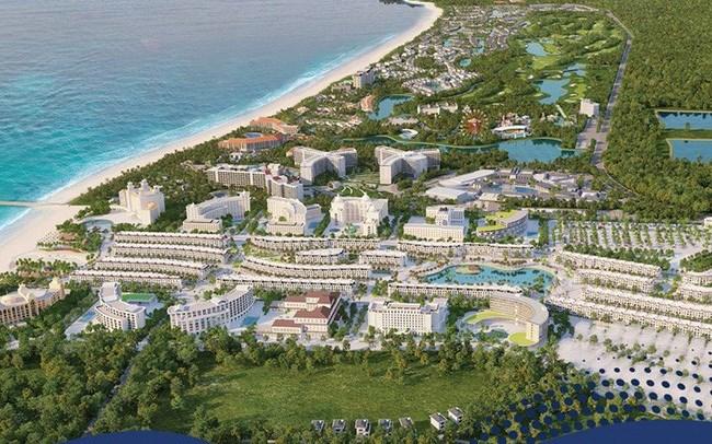 Grand World Phú Quốc nằm ở vị trí vàng bên bờ Bãi Dài, một trong những bãi biển hoang sơ đẹp nhất hành tinh do CNN bình chọn. Ảnh VIC