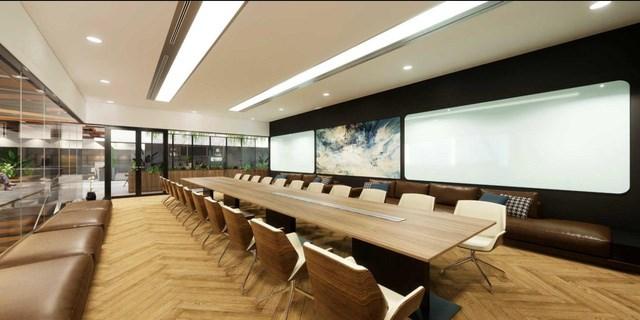 Khu phòng họp trực tuyến cao cấp. Ảnh NVL