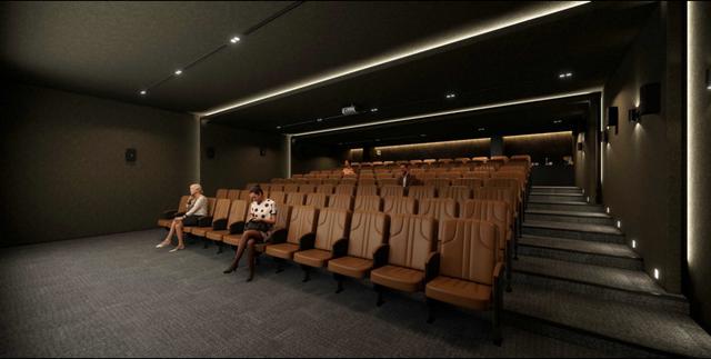 Rạp chiếu phim 4D với sức chứa 80 khách. Ảnh NVL