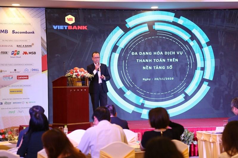 Ông Phạm Tấn Lộc - Giams đốc Khối Dịch vụ ngân hàng số Vietbank. Ảnh Vietbank