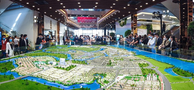 Khu đô thị sinh thái được quy hoạch bài bản và hoàn chỉnh tại các đô thị vệ tinh như Aqua City luôn là đích ngắm của giới đầu tư và an cư. Ảnh Novaland