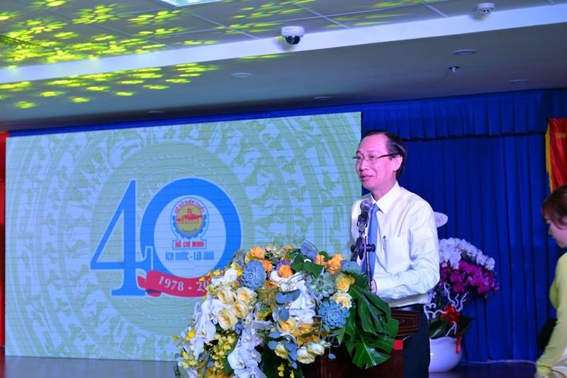 1.Phó Chủ tịch UBND TP. Hồ Chí Minh - Lê Thanh Liêm phát biểu tại buổi lễ. Ảnh NT