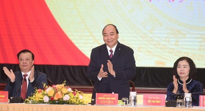 Thủ tướng Chính phủ Nguyễn Xuân Phúc tham dự Hội nghị trực tuyến tổng kết công tác tài chính - ngân sách nhà nước năm 2020 và triển khai nhiệm vụ tài chính - ngân sách nhà nước năm 2021