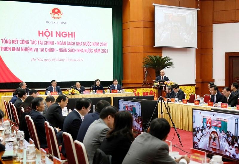 Thứ trưởng Bộ Tư pháp Phan Chí Hiếu phát biểu tại Hội nghị