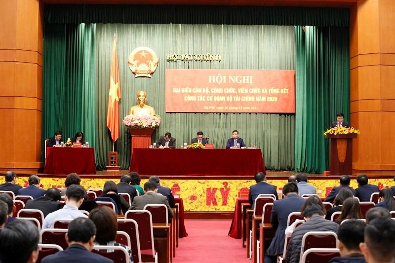 Hội nghị đại biểu cán bộ, công chức, viên chức và tổng kết công tác cơ quan Bộ Tài chính năm 2021