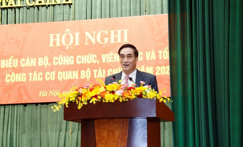 Thứ trưởng Trần Xuân Hà phát biểu chỉ đạo tại Hội nghị.