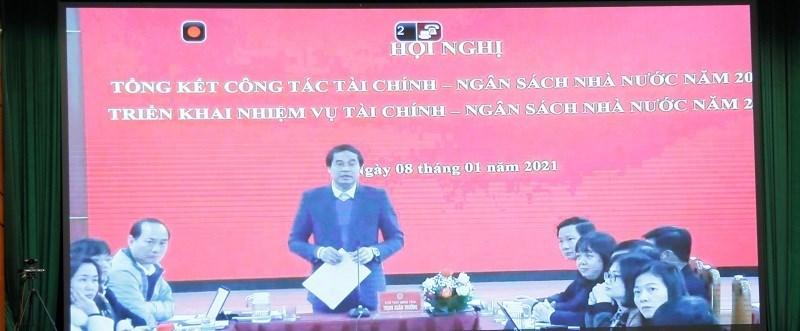 Chùm ảnh tại Hội nghị tổng kết công tác tài chính-ngân sách nhà nước - Ảnh 2