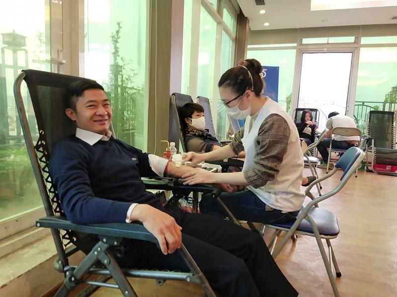 Chương trình hiến máu tình nguyện của Bảo Việt được tổ chức với mong muốn góp phần tiếp thêm niềm tin, tinh thần lạc quan cho các bệnh nhân.