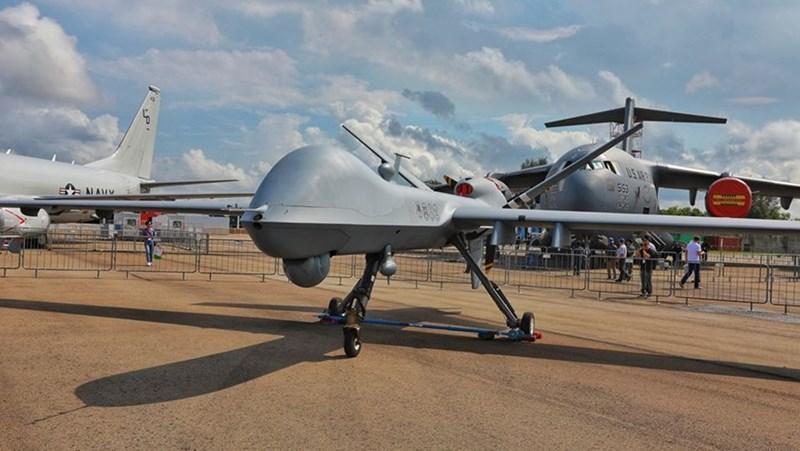 Máy bay không người lái MQ-9 Reaper của Không quân Mỹ.