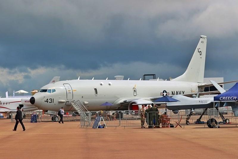Máy bay săn ngầm P-8 Poseidon của Hải quân Mỹ.