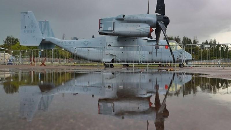 Máy bay V-22 Osprey của Thuỷ quân lục chiến Mỹ.