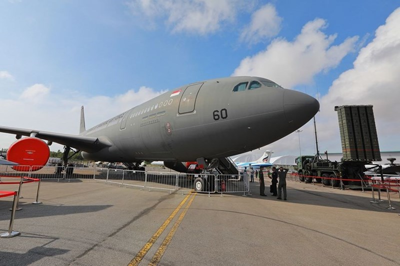 Máy bay vận tải của Không lực Singapore.