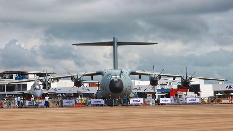 Máy bay vận tải tầm xa A400M của Airbus.