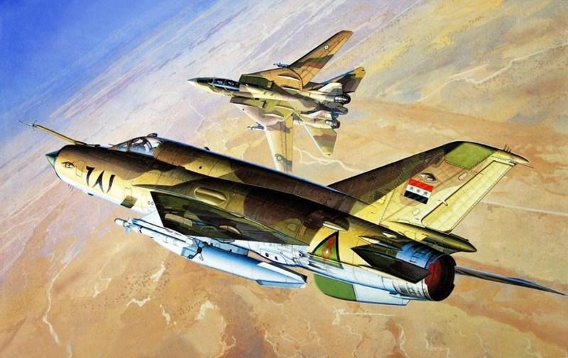 Các cuộc đụng độ trên không trong cuộc xung đột ngắn này được đánh giá vô cùng khốc liệt