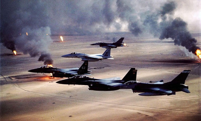 Tiêm kích Mỹ nhận sự hỗ trợ từ máy AWACS E-3 Sentries. Iraq không có lợi thế như vậy, nhưng đã đạt được một số thành công khi sử dụng tiêm kích đánh chặn MiG-29 và MiG-25 thế hệ thứ tư. Dưới đây là 6 trận không chiến quan trọng nhất.
