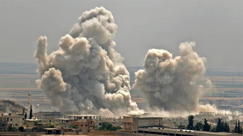 Mặc dù vậy cũng có ý kiến cho rằng trận ném bom của máy bay chiến đấu Nga - Syria không nhằm trực tiếp vào trạm kiểm soát mà bom đã rơi cách đó vài trăm mét, đây chỉ là hành động cảnh cáo.