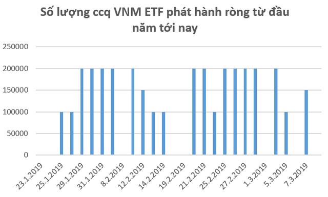 Hàng trăm tỷ đồng tiếp tục đổ vào thị trường Việt Nam thông qua các quỹ ETF trong những ngày đầu tháng 3  - Ảnh 1
