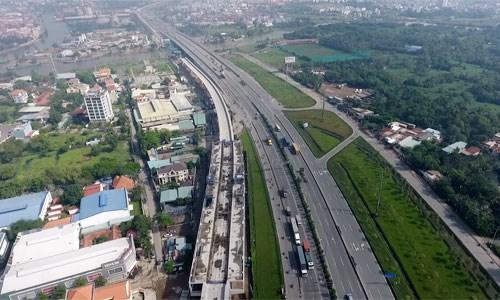 Thị trường bất động sản phía Đông TP. Hồ Chí Minh. Ảnh: Vũ Lê