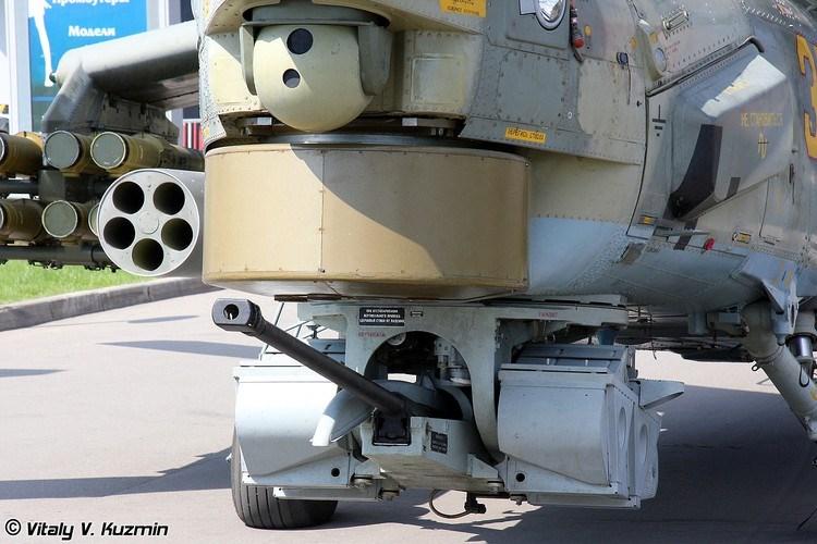 Pháo 2А42 có thể tấn công các mục tiêu bọc thép hạng nhẹ ở khoảng cách xa đến 1.500m