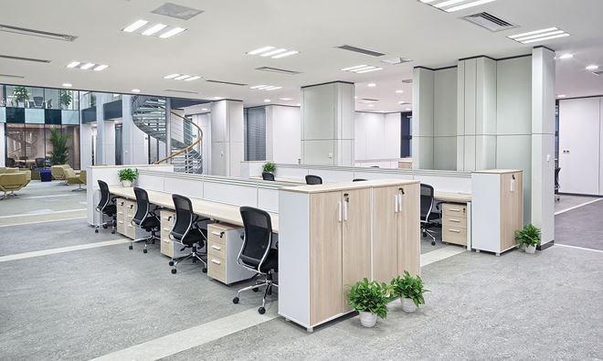 Văn phòng cho thuê là một trong những phân khúc ưa thích của nhà đầu tư nước ngoài. Ảnh: Shutterstock