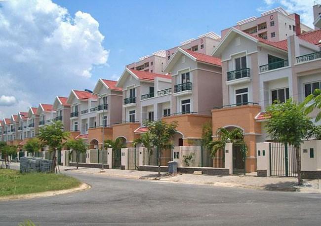 Các dự án nhà liền thổ tại các khu vực mới đang có xu hướng tăng.