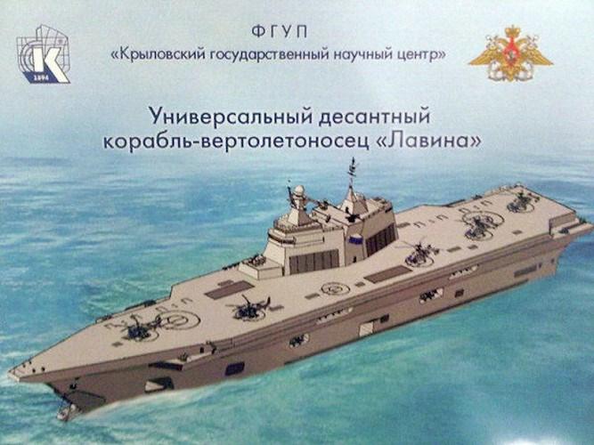 Trong diễn biến khác, hãng thông tấn TASS cho biết, hai tàu đổ bộ tấn công trang bị trực thăng (LHD) đầu tiên của hải quân Nga sẽ được chế tạo tại nhà máy đóng tàu Zaliv nằm trên bán đảo Crimea.